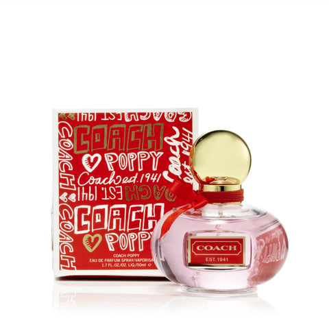 Coach Poppy Eau de Parfum Spray for Women by Coach 1.7 oz.