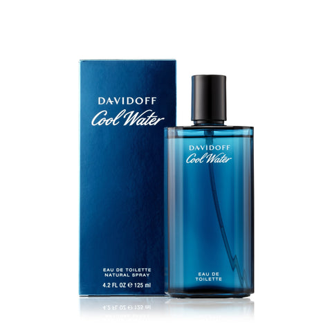 Cool Water Eau de Toilette Spray for Men by Davidoff 4.2 oz.
