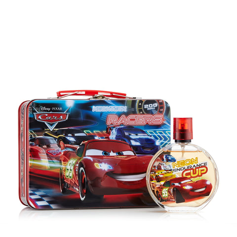 Cars Lunchbox Gift Set for Boys by Disney 3.4 oz.