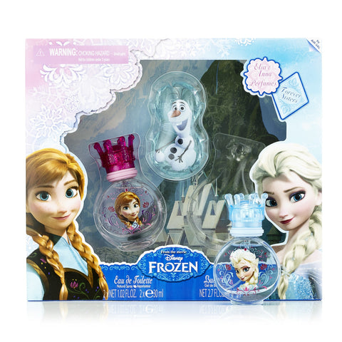 Frozen Eau de Toilette Gift Set for Girls by Disney 1.04 oz. X 2