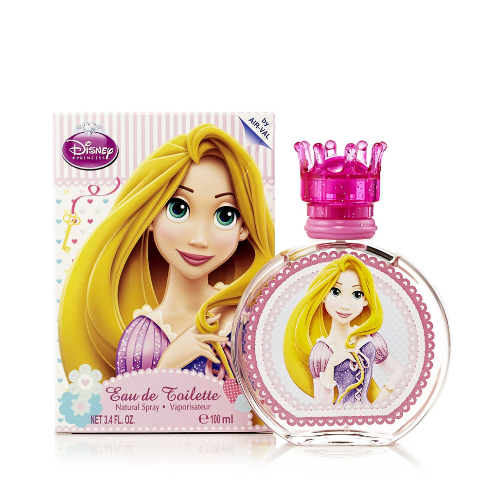 Princess Repunzel Eau de Toilette Spray for Girls by Disney 3.4 oz.