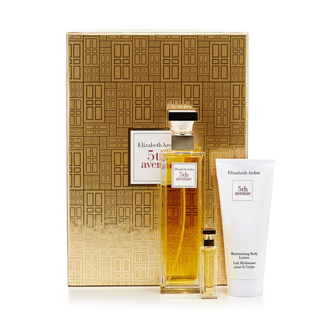 5th Ave. Gift Set Eau de Toilette, Body Lotion and Eau de Parfum for Women by Elizabeth Arden 4.2 oz.