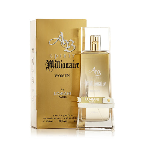 Ab Spirit Millionaire Eau de Parfum Spray for Women 3.3 oz.