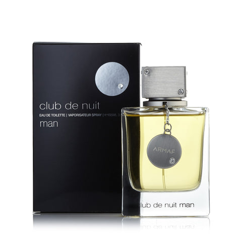 Club de Nuit Eau de Toilette Spray for Men 3.4 oz.