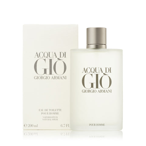 Acqua Di Gio Eau de Toilette Spray for Men by Giorgio Armani 6.7 oz.