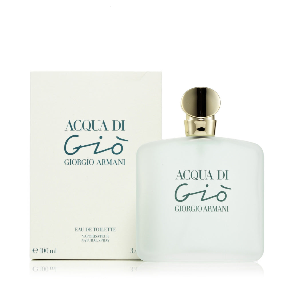 Acqua Di Gio Eau de Toilette Spray for Women by Giorgio Armani 3.4 oz.