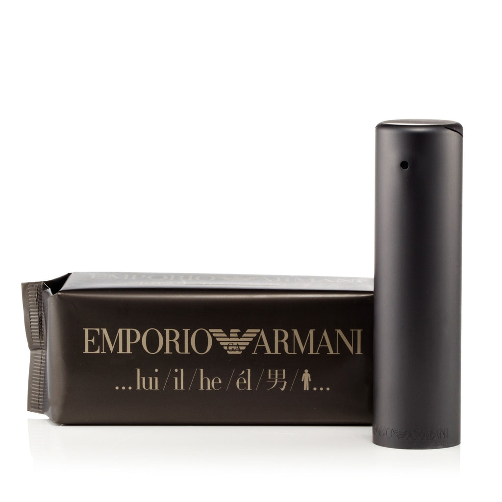 Emporio Armani Eau de Toilette Spray for Men by Giorgio Armani 3.4 oz.