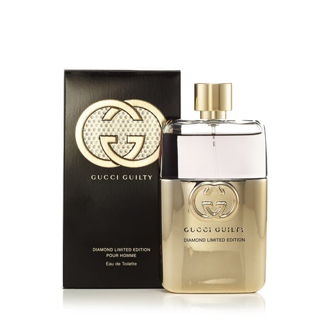 Guilty Diamond Limited Edition Eau de Toilette Spray for Men by Gucci 3.0 oz.