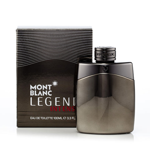 Legend Intense Eau de Toilette Spray for Men by Montblanc 3.3 oz.