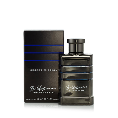 Secret Mission Eau de Toilette Spray for Men by Baldessarini 3.0 oz.