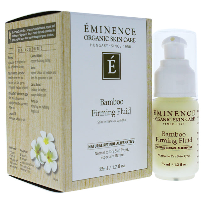Bamboo Firming Fluid by Eminence for Unisex - 1.2 oz Fluid