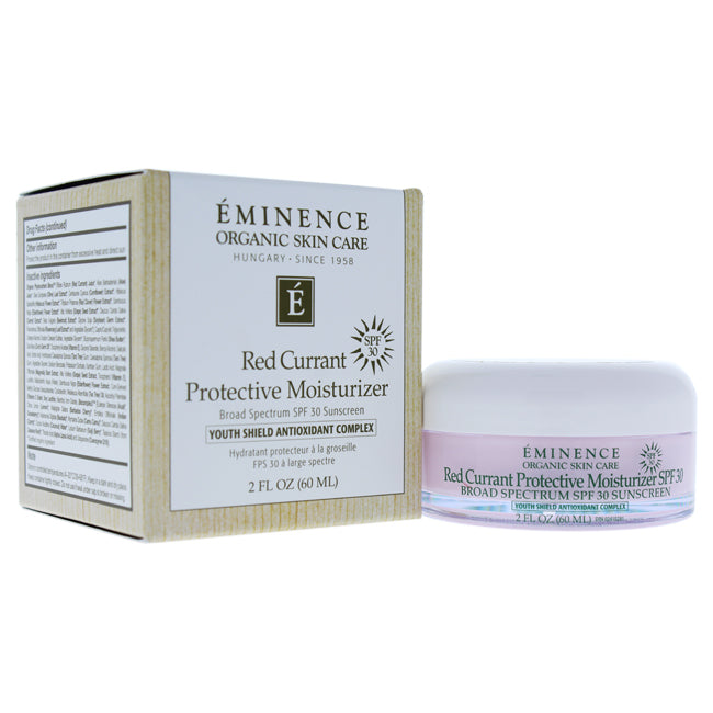 Red Currant Protective Moisturizer SPF 30 Sunscreen by Eminence for Unisex - 2 oz Sunscreen