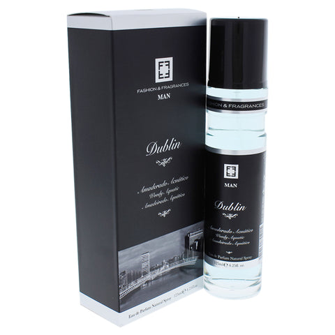 Dublin Woody Aquatic by Fashion and Fragrances for Men - EDP Spray image