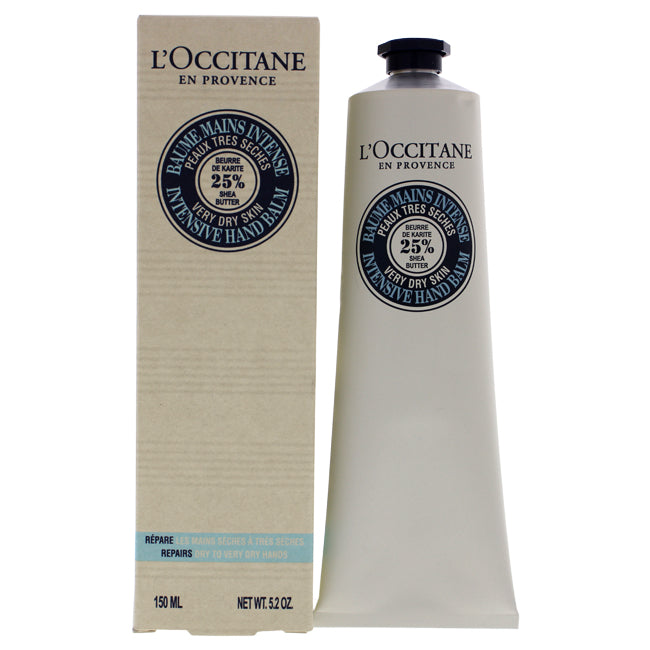 Shea Butter Intensive Hand Balm by LOccitane for Unisex - 5.2 oz Hand Balm