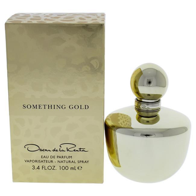 SOMETHING GOLD BY OSCAR DE LA RENTA FOR WOMEN -   Eau De Parfum SPRAY