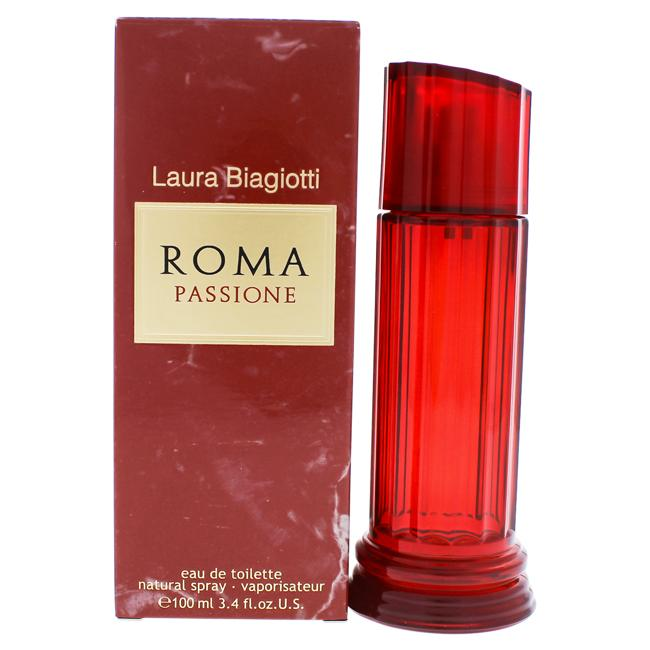 ROMA PASSIONE BY LAURA BIAGIOTTI FOR WOMEN -  Eau De Toilette SPRAY