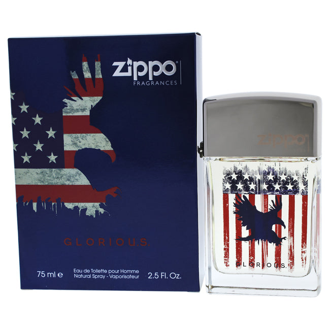 Glorious by Zippo for Men - EDT Spray