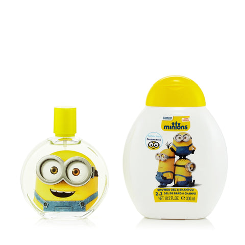 Minions Gift Set EDT Spray and Shower Gel for Boy by Illumination Entertainment 3.4 oz. image