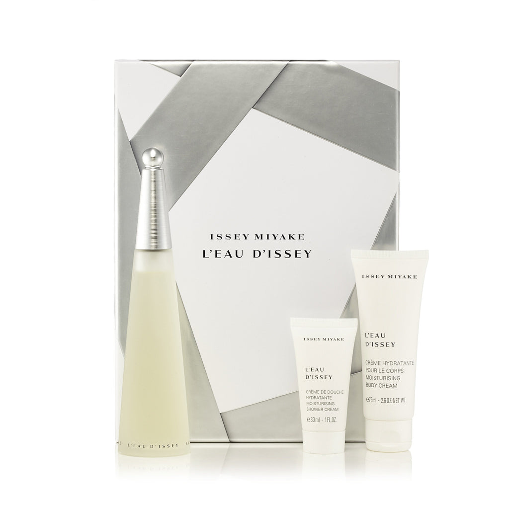L'Eau Dissey Gift Set for Women by Issey Miyake 3.3 oz.