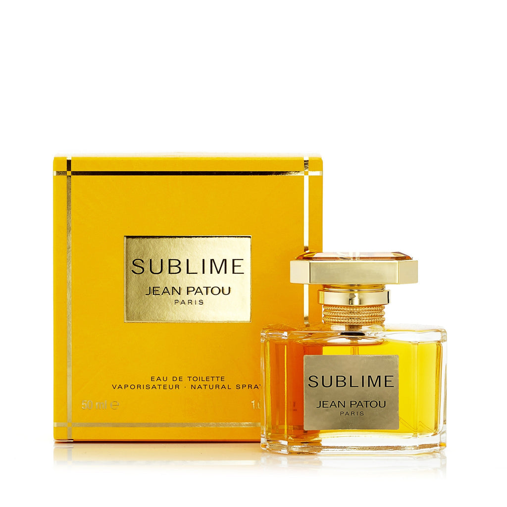 Sublime Eau de Toilette Spray for Women by Jean Patou 1.6 oz.