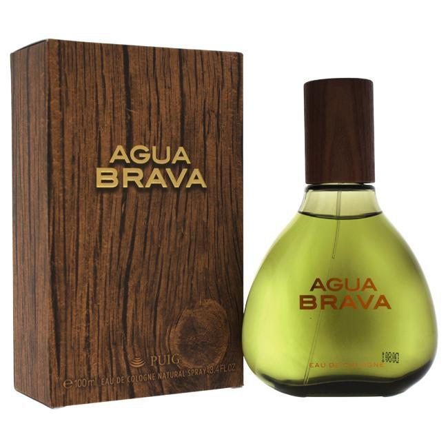 Agua Brava by Antonio Puig for Men -  Eau De Cologne Spray