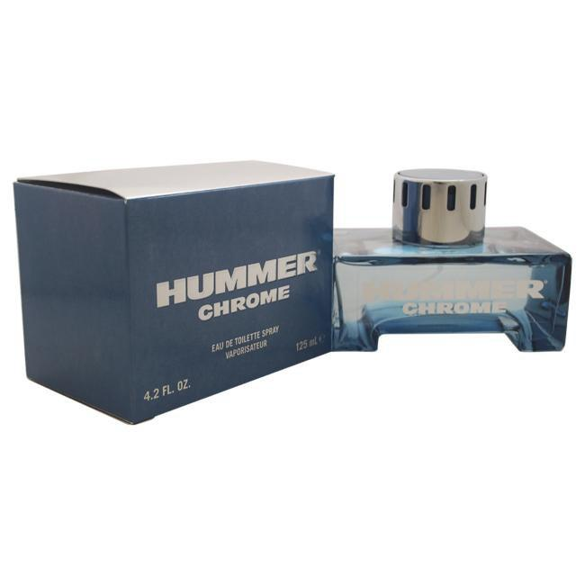 HUMMER CHROME BY HUMMER FOR MEN -  Eau De Toilette SPRAY