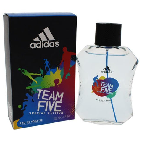 ADIDAS TEAM FIVE BY ADIDAS FOR MEN -  Eau De Toilette SPRAY image