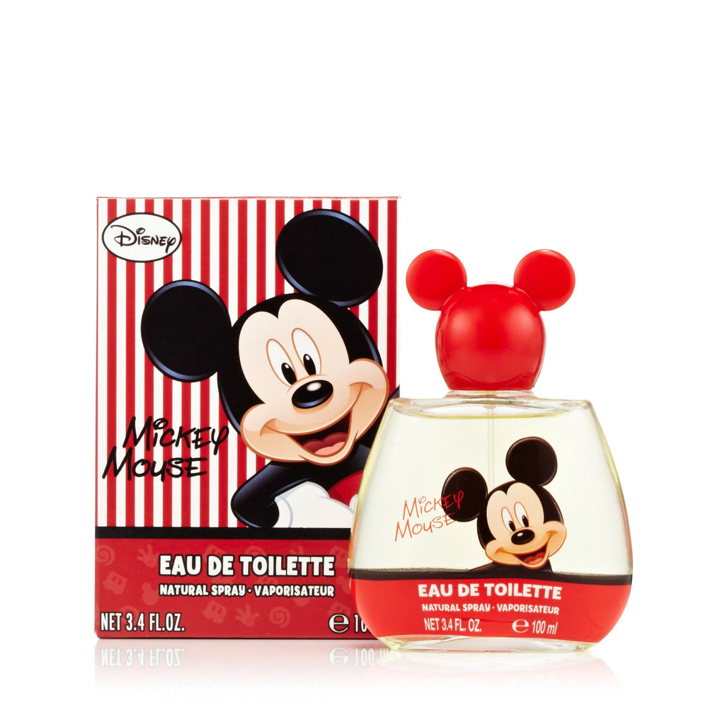 Mickey Eau de Toilette Spray for Boys by Disney 3.4 oz.