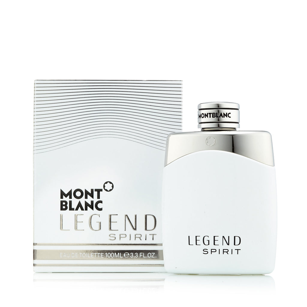 Legend Spirit Eau de Toilette Spray for Men by Montblanc 3.3 oz.