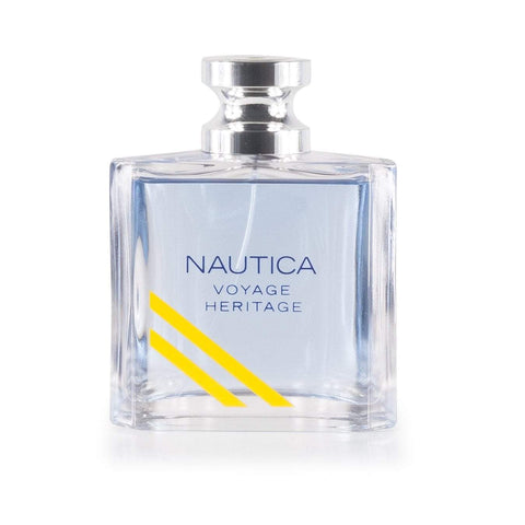 Voyage Heritage Eau de Toilette Spray for Men by Nautica 3.4 oz.