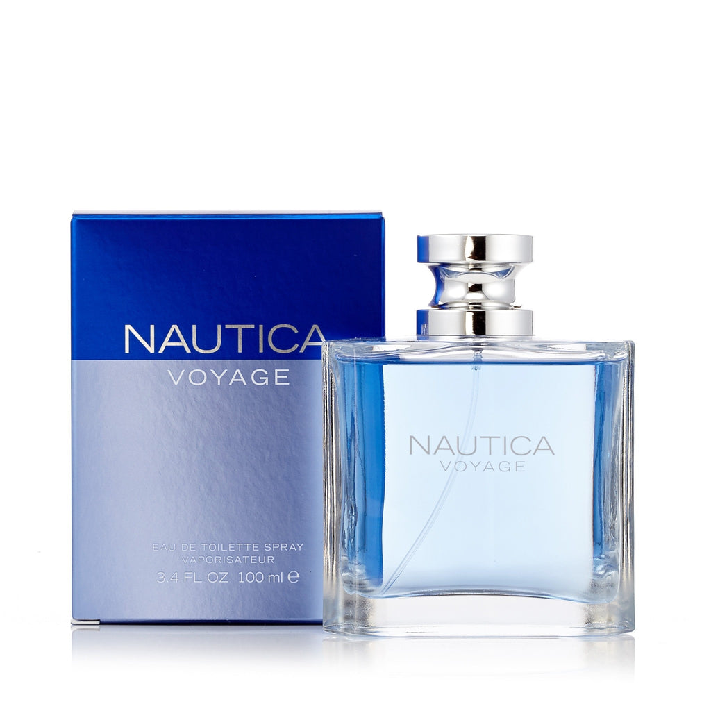 Voyage Eau de Toilette Spray for Men by Nautica 3.4 oz.