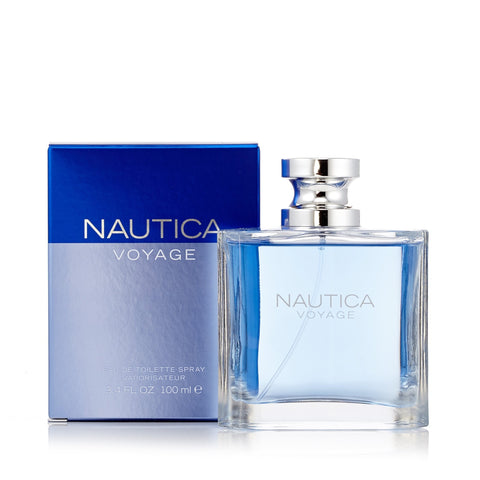 Voyage Eau de Toilette Spray for Men by Nautica 3.4 oz. image