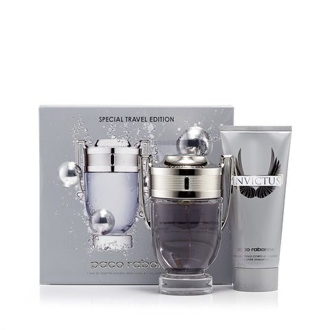 Invictus Gift Set Eau de Toilette and Shower Gel for Men by Paco Rabanne 3.4 oz. image