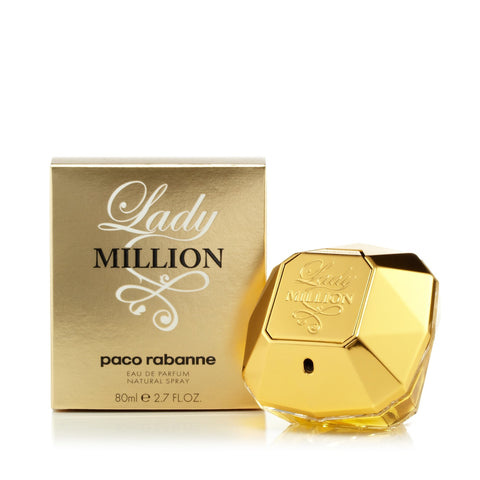 Lady Million Eau de Parfum Spray for Women by Paco Rabanne 2.7 oz. image
