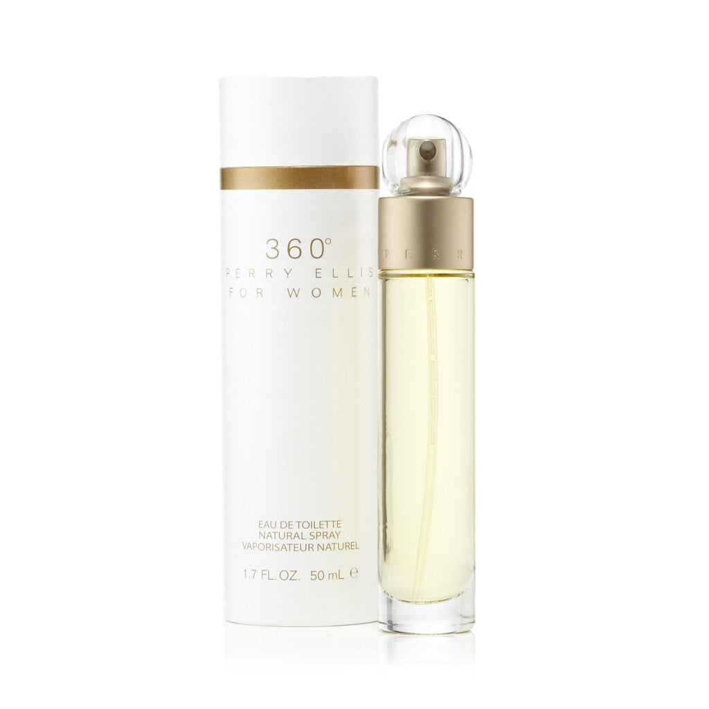 Perry Ellis 360 Eau de Toilette Womens Spray 1.7 oz.