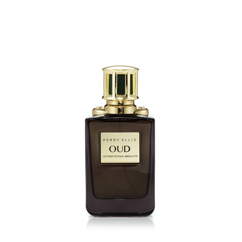 Oud Vetiver Royale Absolute Eau de Parfum Spray for Men and Women by Perry Ellis 3.4 oz. image