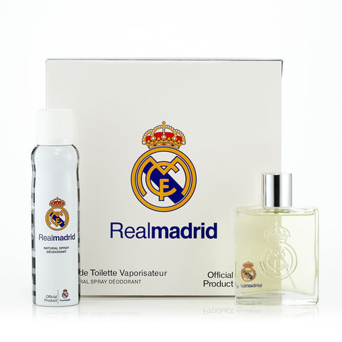 Real Madrid Gift Set for Men by Real Madrid 3.4 oz. image