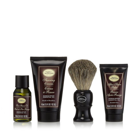 The 4 Elements of the Perfect Shave Set Sandalwood by The Art of Shaving