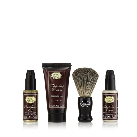 The 4 Elements of the Perfect Shave Starter Set Sandalwood by The Art of Shaving