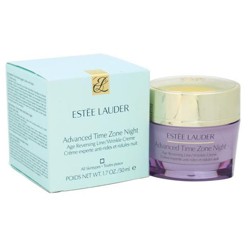 Advanced Time Zone Night Age Reversing Line/Wrinkle Creme - All Skin Types by Estee Lauder for Unise image
