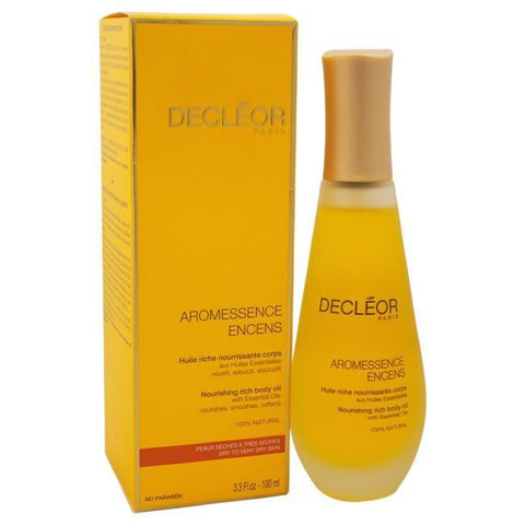 Aromessence Encens Nourishing Rich Body Oil by Decleor for Unisex - 3.3 oz Oil image