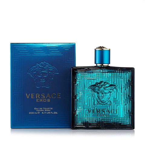 Eros Eau de Toilette Spray for Men by Versace 6.7 oz.