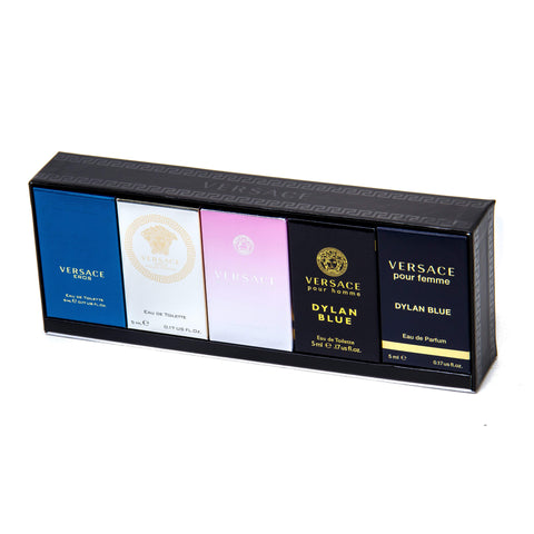 Versace Miniature Gift Set for Men and Women by Versace image