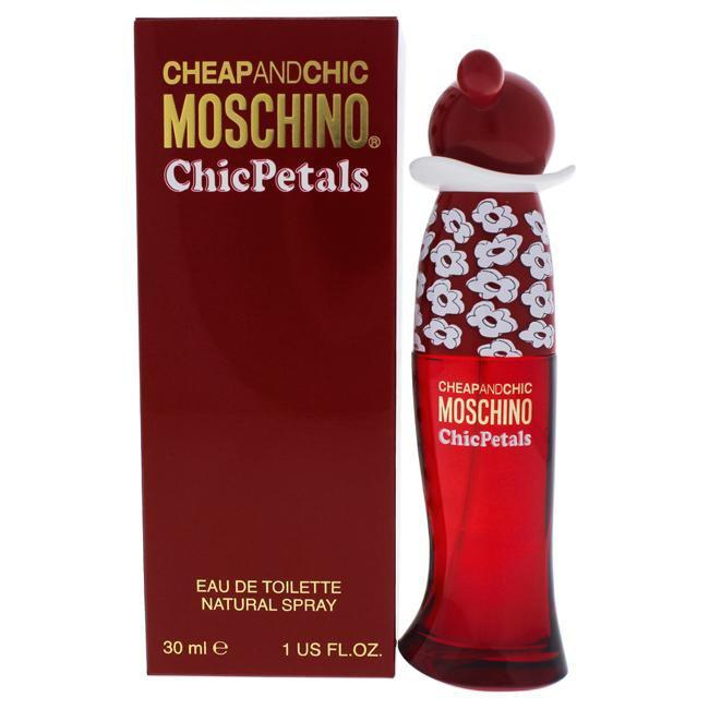 CHEAP AND CHIC CHIC PETALS BY MOSCHINO FOR WOMEN -  Eau De Toilette SPRAY