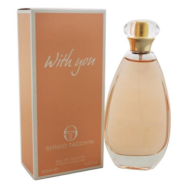 SERGIO TACCHINI WITH YOU BY SERGIO TACCHINI FOR WOMEN -  Eau De Toilette SPRAY