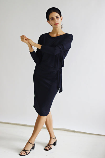 Judith Navy Dress - Sarah Feldman Cape Town