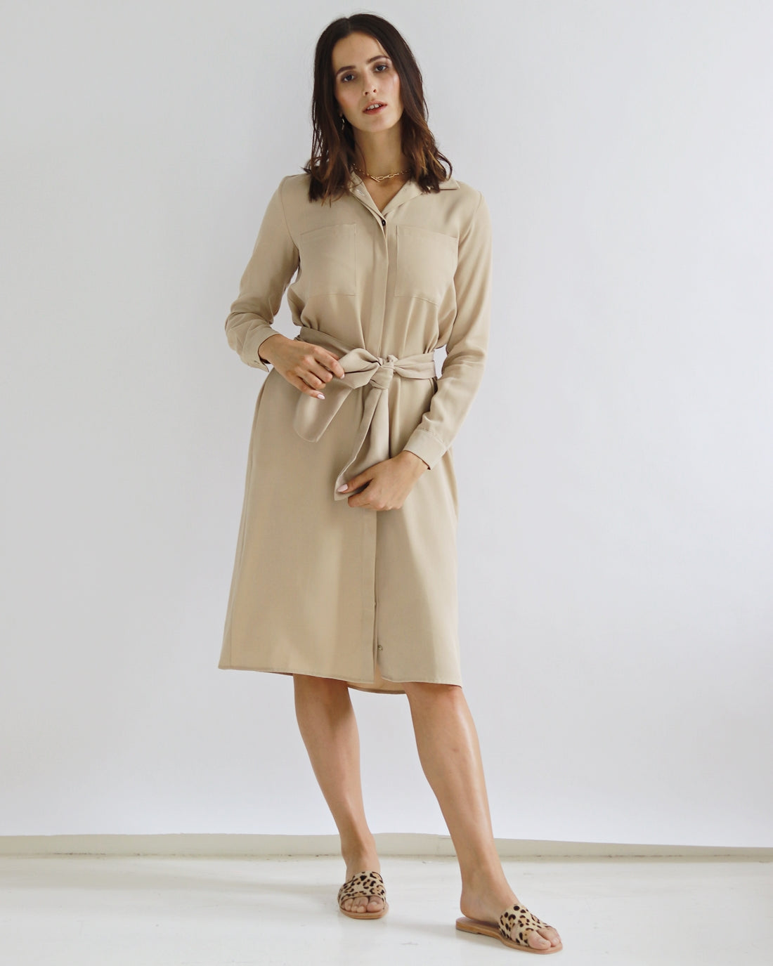 Malka Ginger Dress - Sarah Feldman Modest Clothing