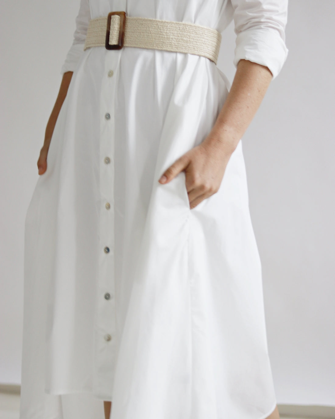 Natural Belt - Sarah Feldman Modest Clothing