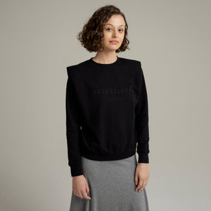 SF Black Sweater - Sarah Feldman Modest Clothing