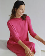 Yaffa Fuchsia Pink Dress - Sarah Feldman Modest Clothing
